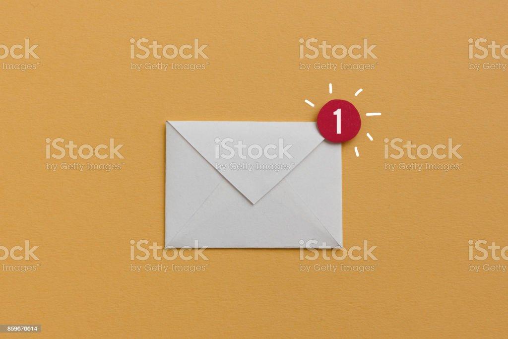 Sie haben eine neue e-mail - Lizenzfrei Abonnement Stock-Foto