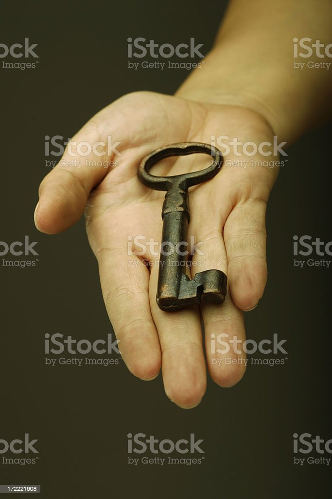 You have the key royalty-free stock photo
