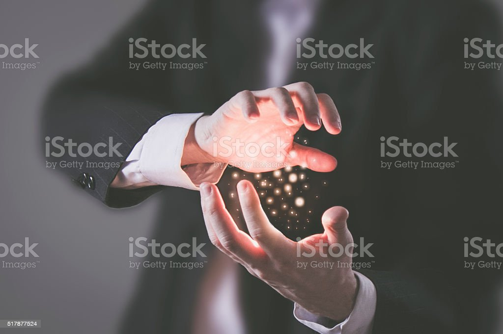 You have the power stock photo