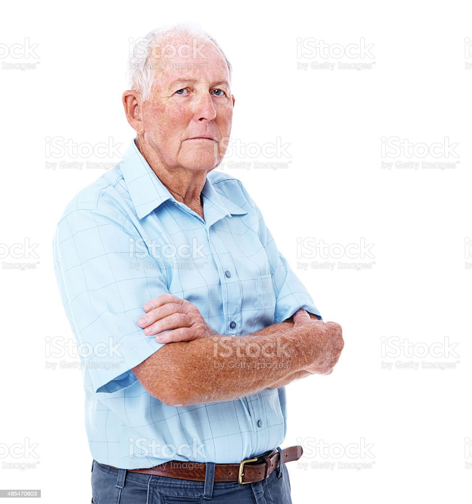 You have to be serious sometimes stock photo