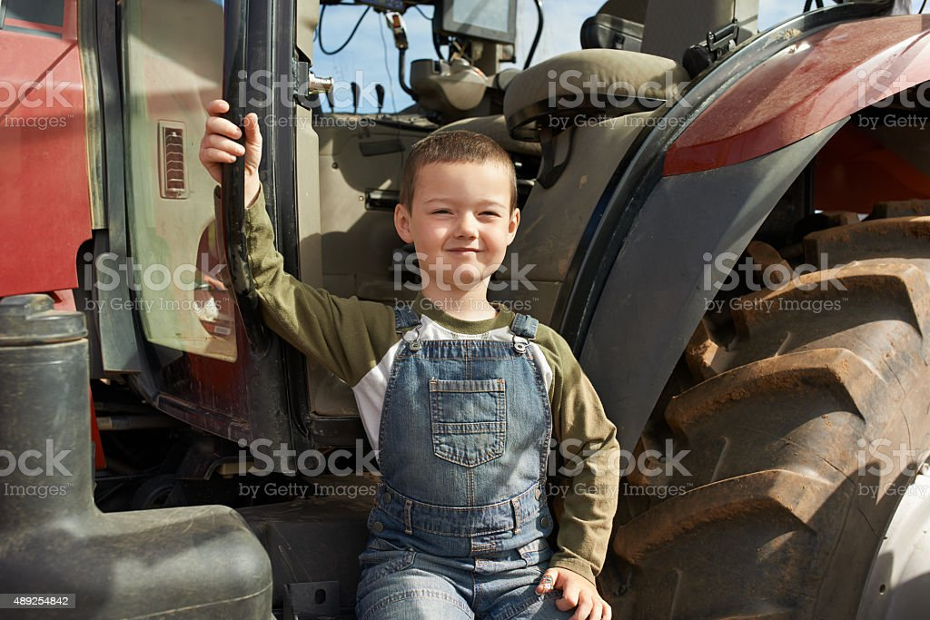You have to be this big to ride this! royalty-free stock photo