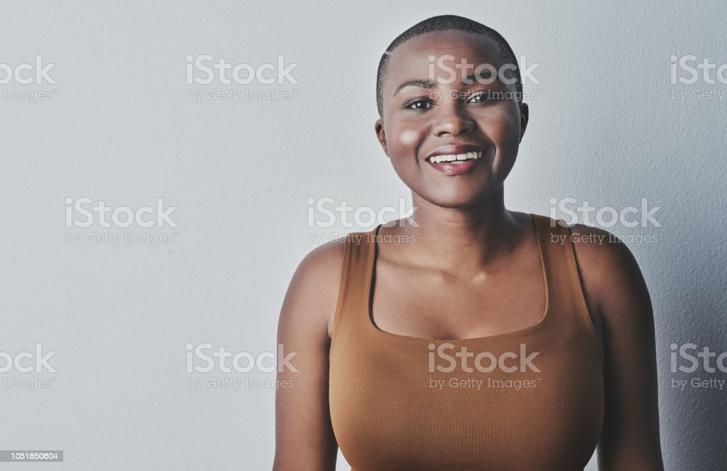 You look good. Own it! stock photo