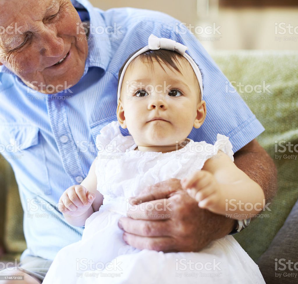 You look just like your mommy! royalty-free stock photo