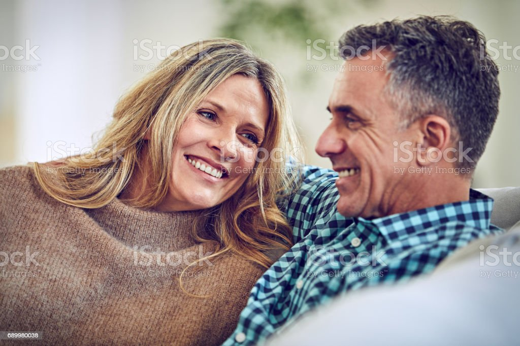 You make me so happy stock photo