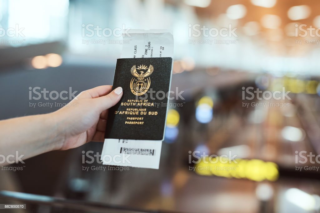 You need an ID if you want to travel stock photo