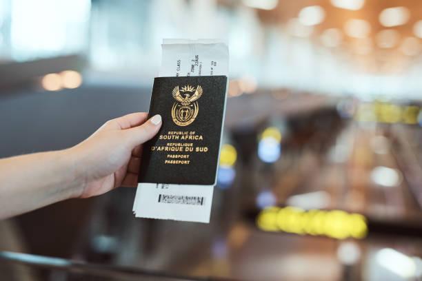 Usted necesita un ID si desea viajar - foto de stock