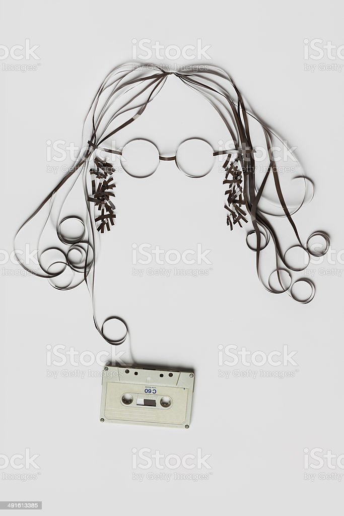 You need is tape. stock photo