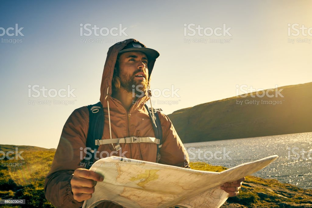 You never know what you're going to find stock photo
