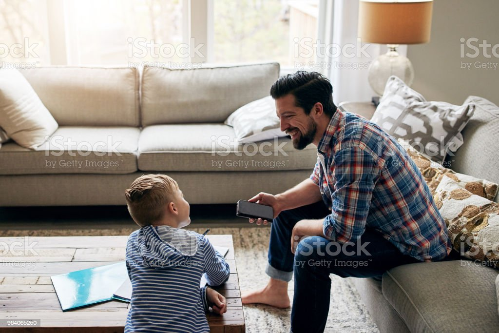 You really are quite a smart little kid - Royalty-free Adult Stock Photo