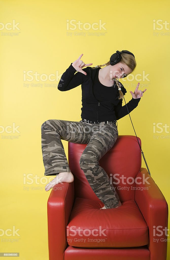 You rock stock photo
