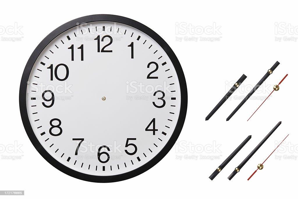 Establecer el tiempo - foto de stock