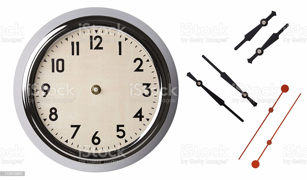 You Set the Time royalty-free stock photo