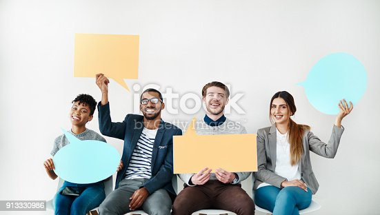 855443864 istock photo You should speak your mind at all times 913330986
