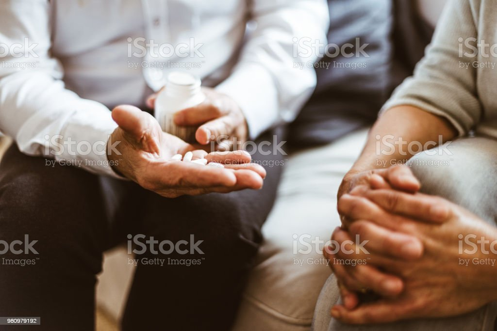 you should take these pills stock photo