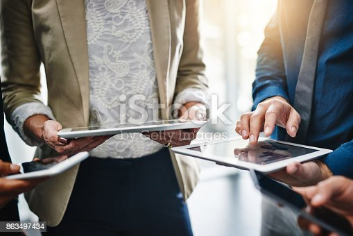 863497390 istock photo You solution is a touch away 863497434