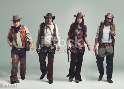 istock You won't find a more diabolical band of outlaws! 487965779