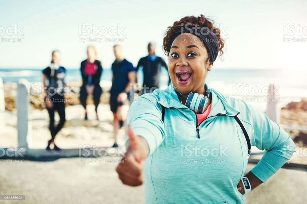 You'd be just as surprised by the benefits of exercising! royalty-free stock photo