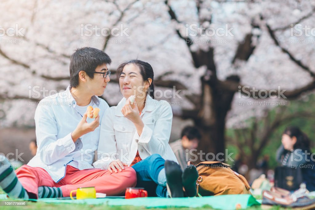 Youg Couple Having Picnic In Spring Stock Photo Download Image Now Istock Последние твиты от evha (@young_kie16). https www istockphoto com photo youg couple having picnic in spring gm1091779996 292914371