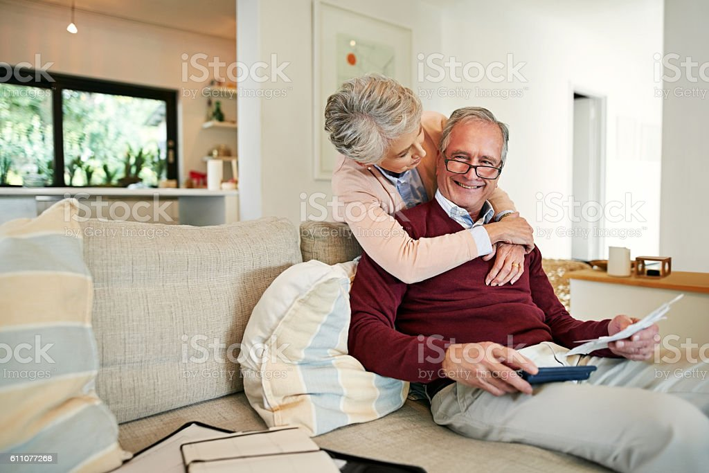You'll be well rewarded for spending under the budget stock photo