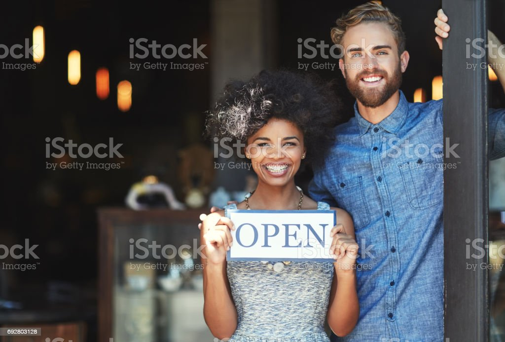 You'll love the service we have to offer! stock photo