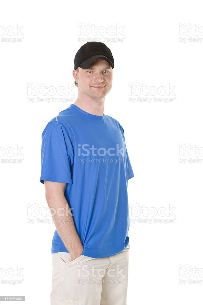 young active man royalty-free stock photo