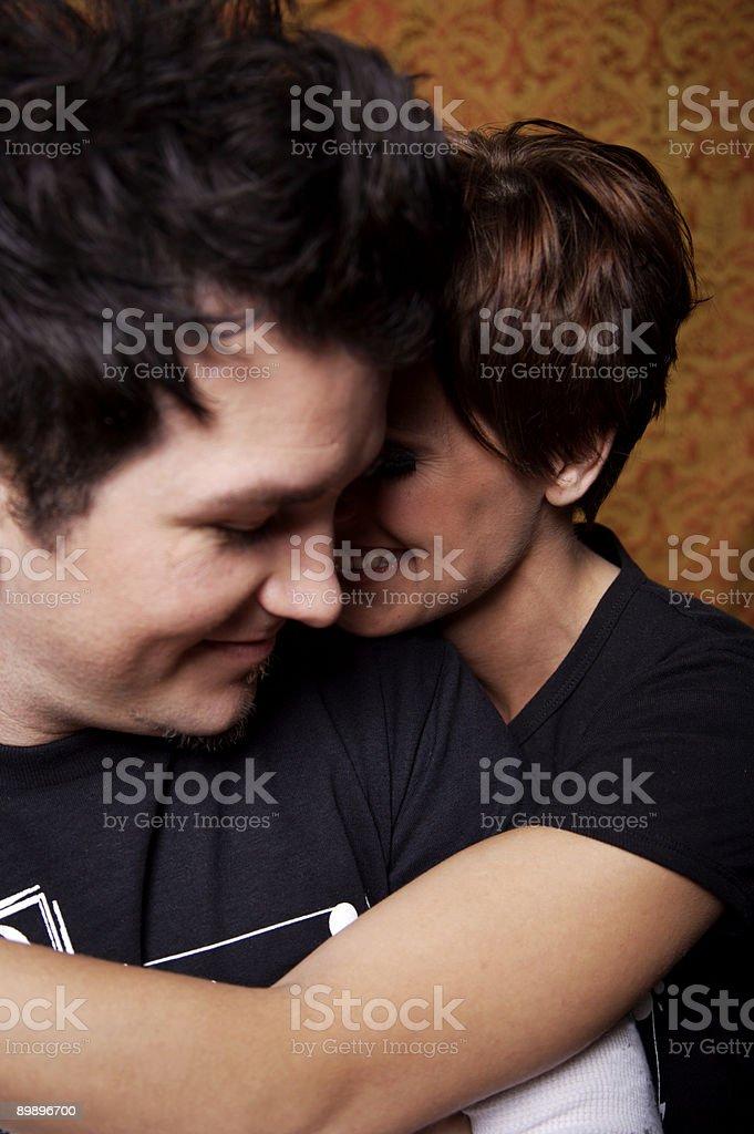 Adulto joven pareja Retratos foto de stock libre de derechos