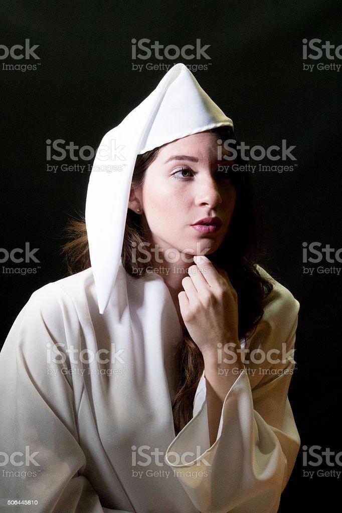 Jeune adulte femme dubitatif - Photo