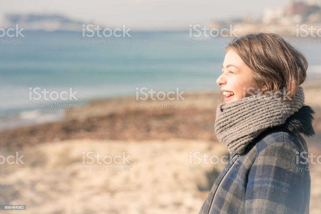 Young adult  in Shonan stock photo