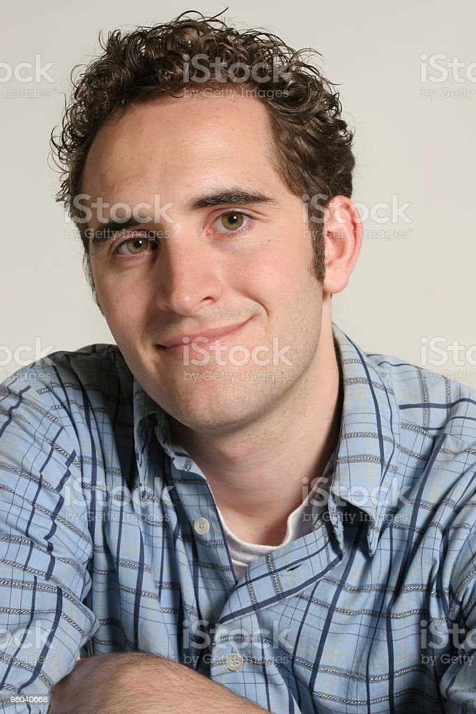 Young adult male royalty-free stock photo