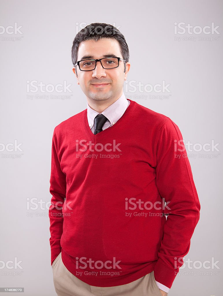 Young Adult Man Portrait royalty-free stock photo