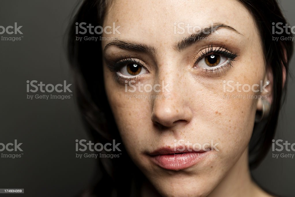 Young adult portrait royalty-free stock photo