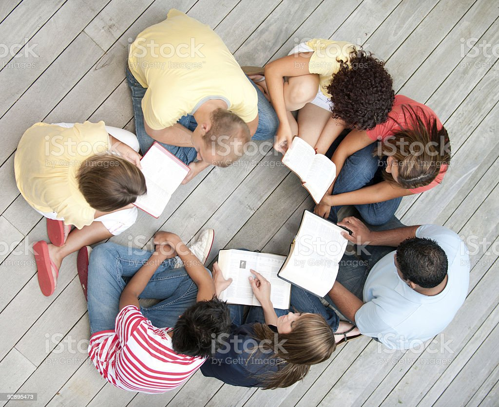 Young adult study stock photo