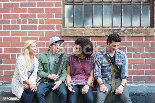 521022435 istock photo Young adults hanging out 537058587
