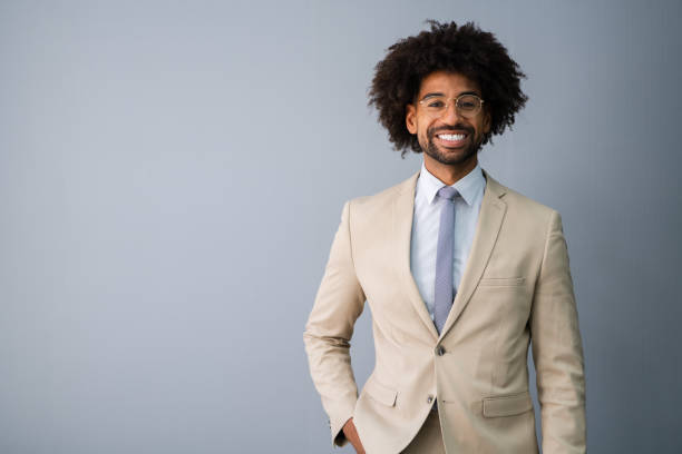Young African American Accountant stock photo