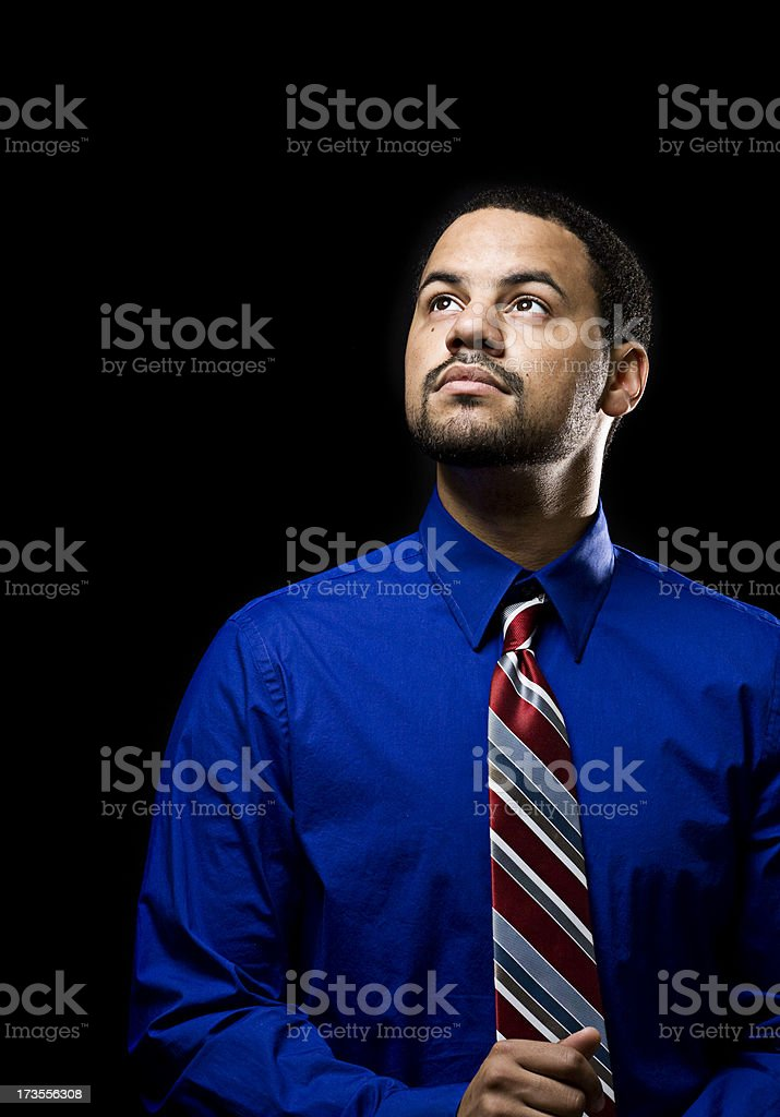 Young African American Business Man royalty-free stock photo