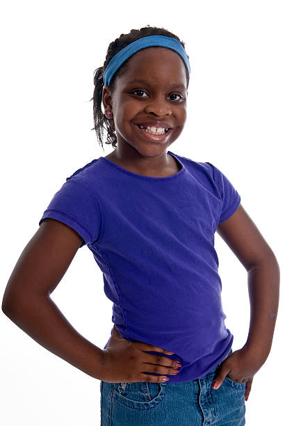 Young African American Child stock photo