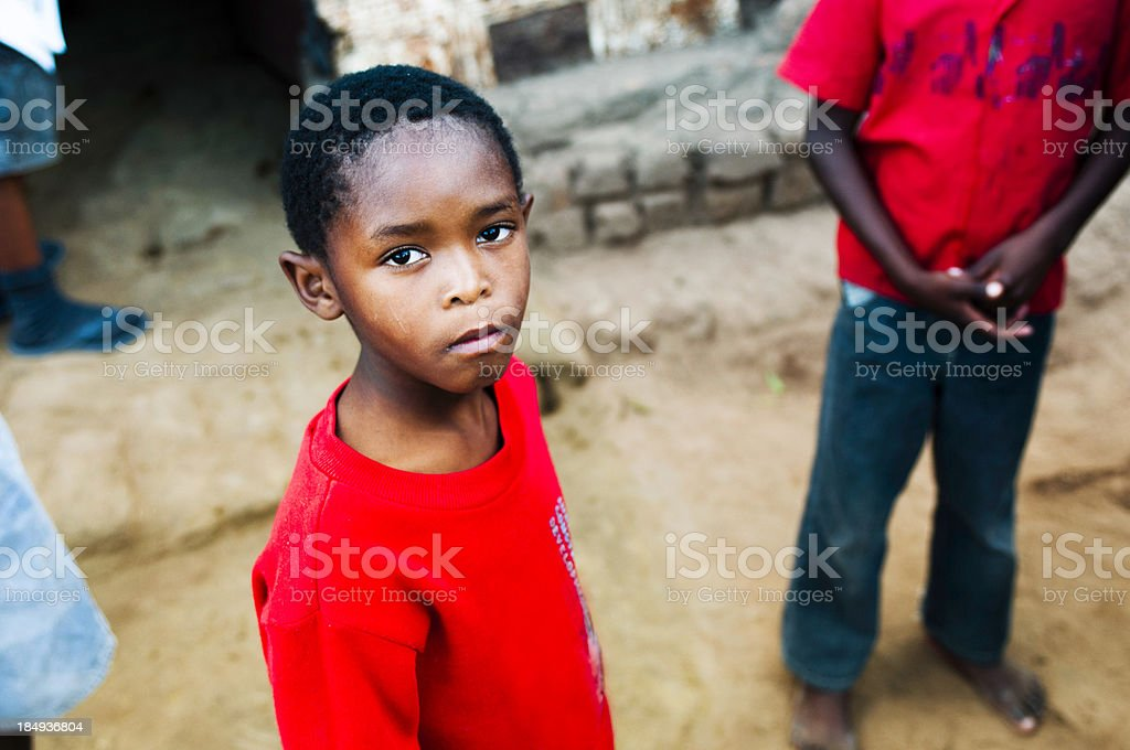 Young African child stock photo