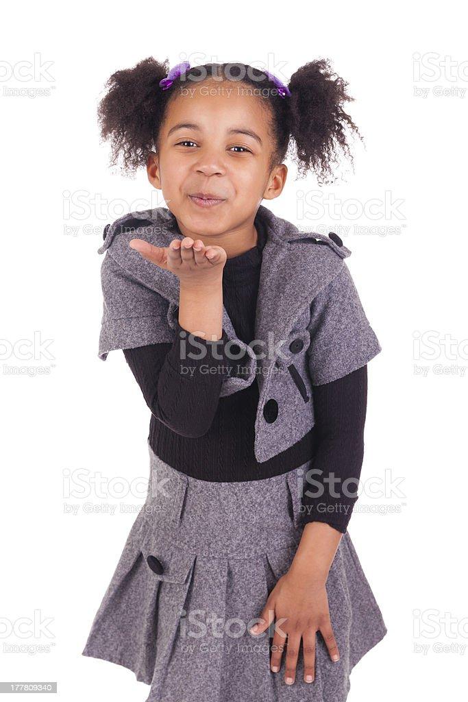 Jeune fille africaine baisée