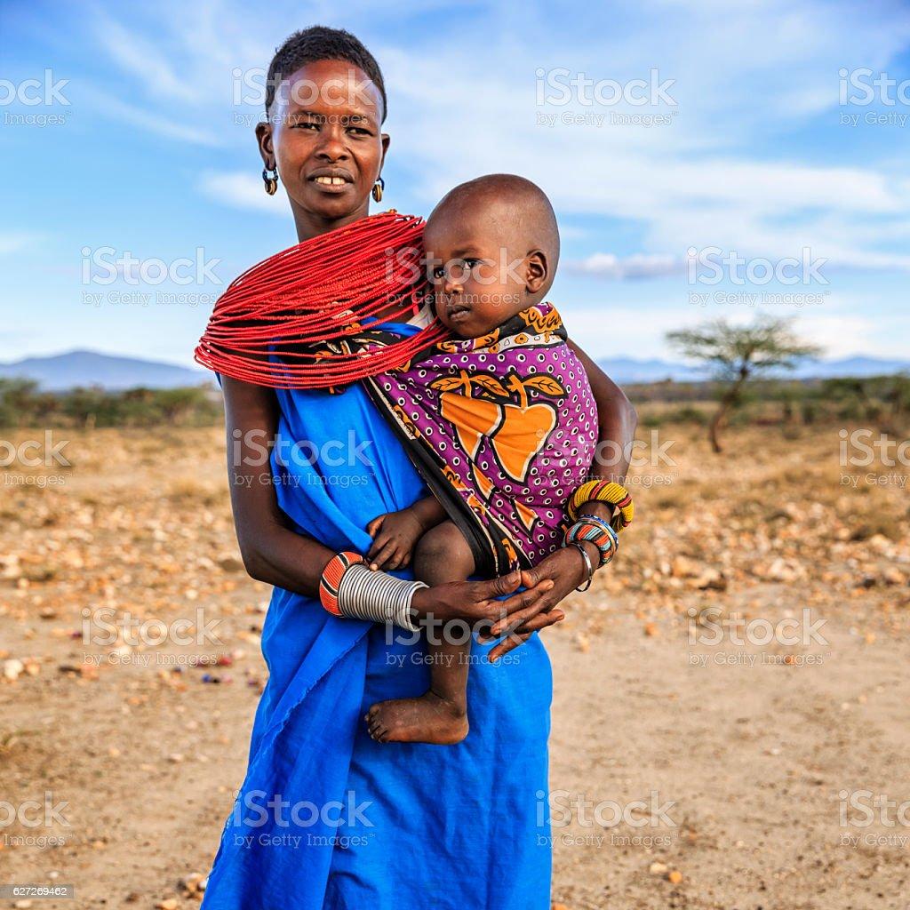 Afrikanische Frau
