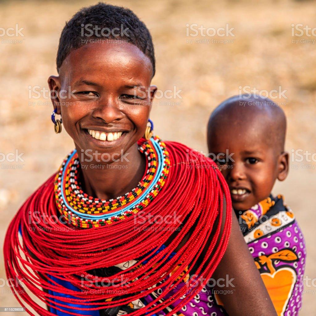 Junge afrikanische Babys