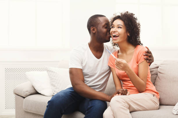Best Wife Pregnant With Black Baby Stock Photos, Pictures
