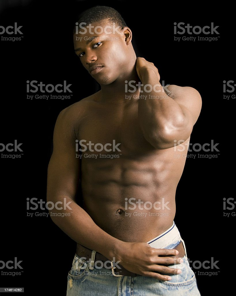 Young African-American Male stock photo