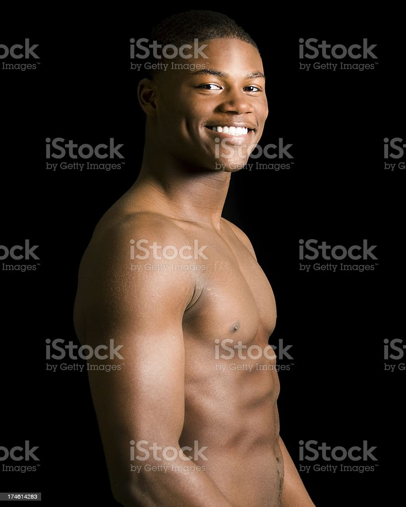 Young African-American Male royalty-free stock photo