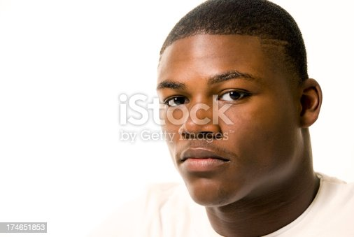 istock Young African-American Male 174651853