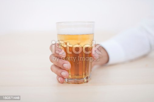 istock Young African-American Man Drinking Beer 150371446