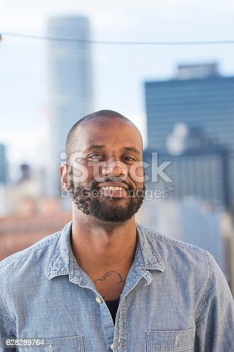 istock Young African-American man 628289764