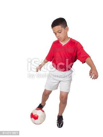 istock Young African-American Soccer Player 514211821