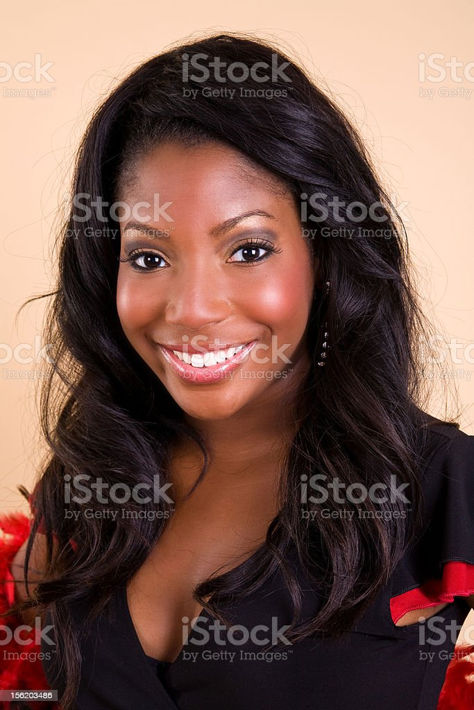 Young African-American Woman royalty-free stock photo