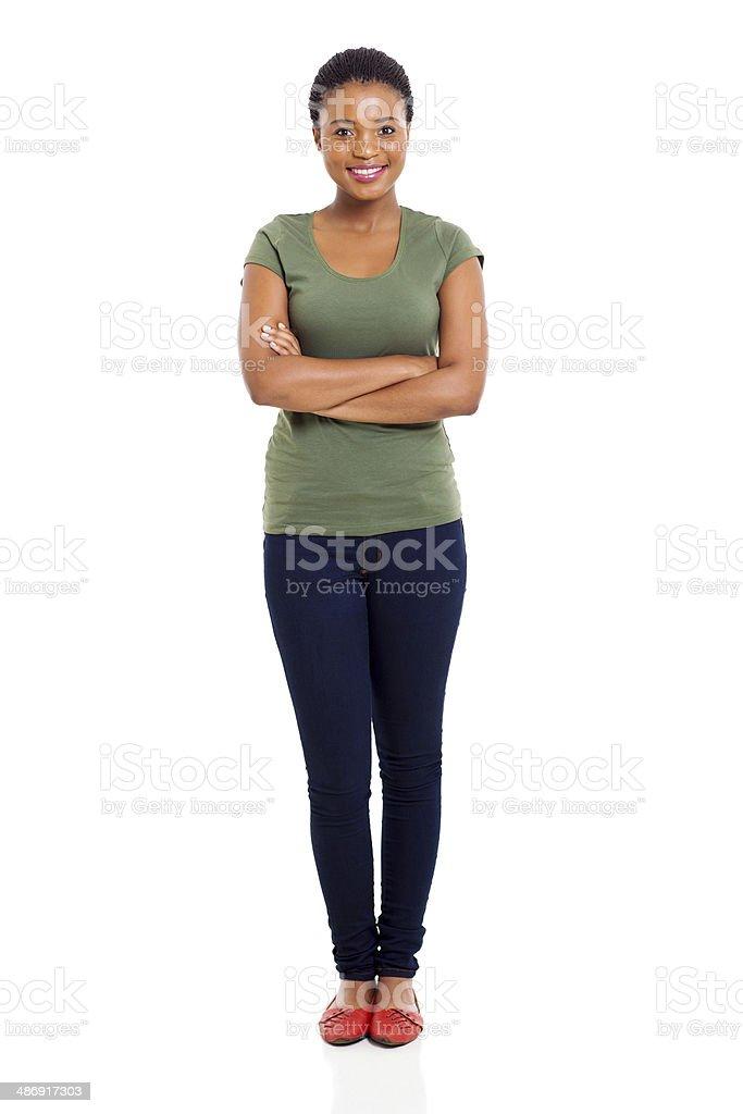 Молодые Афро Американская женщина стоковое фото