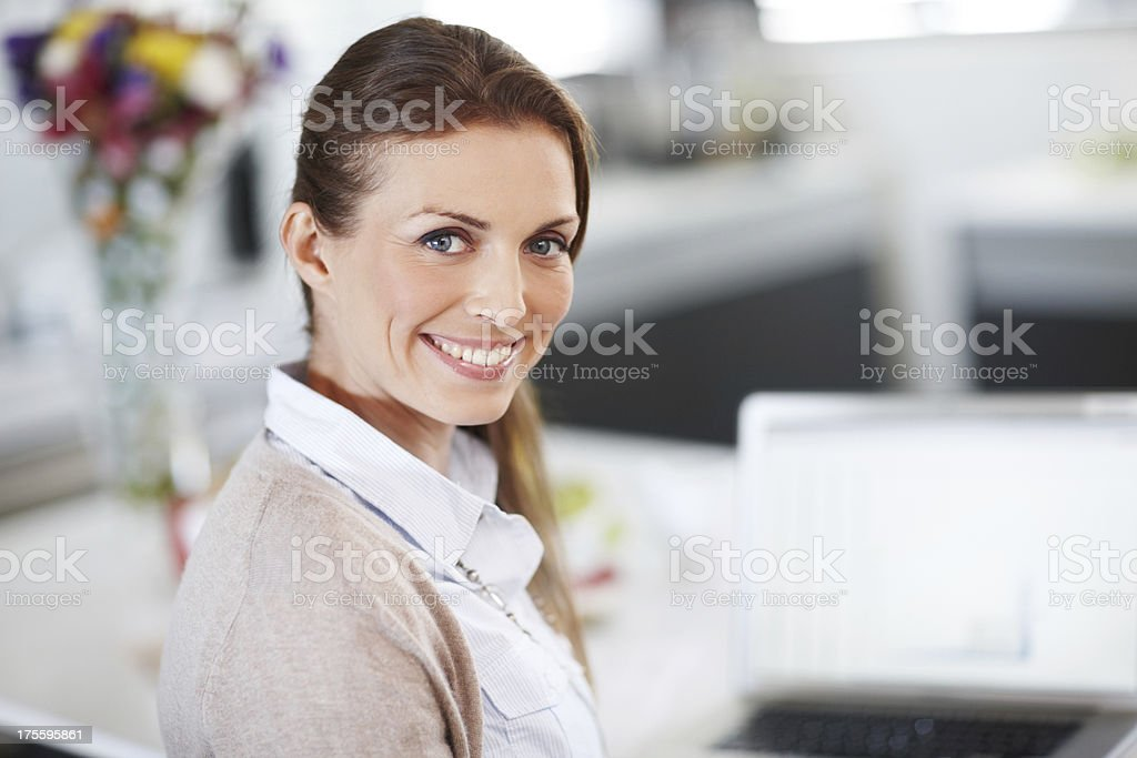 Young, ambitious and hard-working! royalty-free stock photo